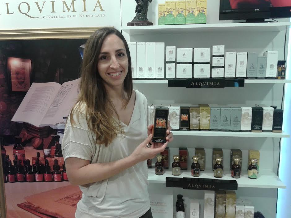 Sorteig d'un oli corporal rejovenitzant de Babilònia de la marca Alquimia [Esthetica Natural] >> Georgina de Solà. FELICITATS!